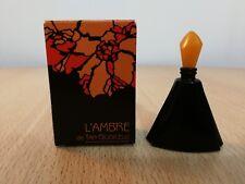 L' Ambre Tan Giudicelli for Women EDT 5 ml MINI MINIATURE PERFUME NEW w/ box