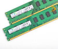 Samsung 2x 8GB PC3L 12800U 2RX8 DDR3 1600MHz 1.35V Memory RAM DIMM Desktop #16GB