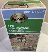 Low Voltage 10W Equivalent Oil Rubbed Bronze Outdoor Integrated LED Landscape