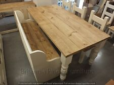 COUNTRY MANOR 6FT X 3FT RECLAIMED PAINTED DINING KITCHEN TABLE HANDMADE