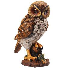 Motion Activated Hooting Owl Decor - Shining Eyes Light Up & Hoots