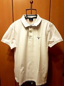 GANT USA / U.S.A. Poloshirt Hemd Polo Shirt  Weiß  Größe M-L