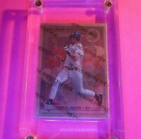 """DEREK JETER 1996 Leaf Preferred Steel Derek Jeter #40 """"METAL CARD"""" Rookie RC HOF"""