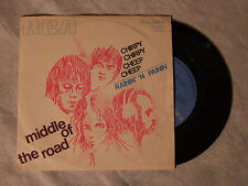 """MIDDLE OF THE ROAD""""CHIRPY CHIRPY CHEEP CHEEP, DISCO 45 GIRI, RCA ITALY, 1970"""""""