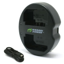 Wasabi Power Dual USB Battery Charger for Sony NP-FZ100, BC-QZ1