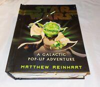 Star Wars A Galactic Pop-Up Adventure Book Matthew Reinhart - Light up!