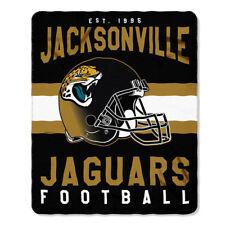 Jacksonville Jaguars Official NFL Licensed 50 X 60 Fleece Blanket - Marquee Styl