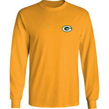 Green Bay Packers Long T-Shirt Graphic Men Cotton GB Cheesehead Chest