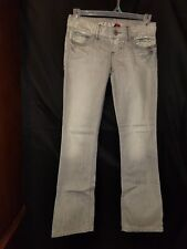 Guess Jeans Daredevil Straight Leg Boot Cut Low Rise