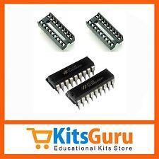 HT12E + HT12D (ENCODER DECODER PAIR) + DIP IC Base KG169