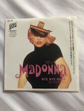 "Madonna Japanese 3""cd Bye Bye Baby"