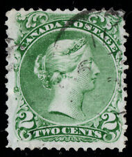 #24 Large Queen 2c Canada used well centered