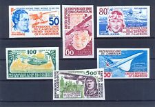 Cameroon 1977 Aviation pioneers and events imperforated. VF and Rare