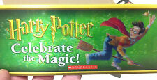 2014  SCHOLASTIC HARRY POTTER CELEBRATE THE MAGIC LENTICULAR 3D PROMO CARD