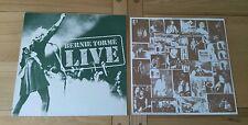 Bernie Tormé Live 1984 UK French LP Inner MZEB1 Heavy Metal Hard Rock A1 B1