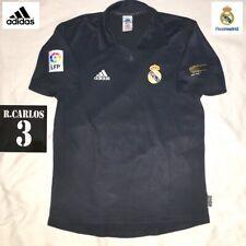 Original Real Madrid Football Away Centenary Shirt R. Carlos Adidas Jersey