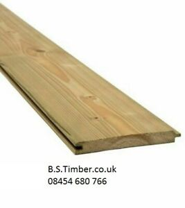 T&G Cladding ex25 x 125mm  Ptgv - Match board pressure treated tongue and groove