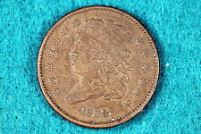 ESTATE FIND 1835 CLASSIC HEAD HALF CENT!!!#D0392