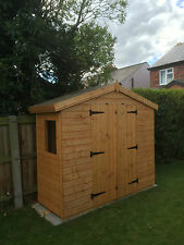8 x 3 garden shed/ storage unit 13mm Apex *FREE INSTALLATION*