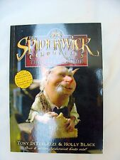 """El Libro De Spiderwick Chronicles' 1 guía de campo de la"""" - por T DiTerlizzi & H Negro"""