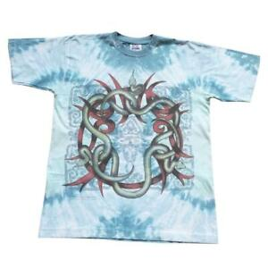 Vintage 1994 Tie Dye Graphic Single Stitch T-Shirt - XL
