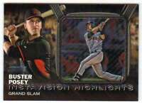 2016 Topps Stadium Club Instavision Highlights #IV-3 Buster Posey Giants