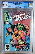 Amazing Spider-Man #257 1st Ned Leeds HobG Marvel 1984 CGC 9.8 NM/MT Comic S0101