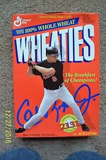 Wheaties Cal Ripken Jr. Cereal Box - UNOPENED
