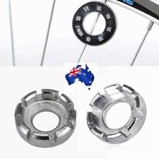 Bicycle Bike Spoke Wrench Steel Adjuster Repair Tool Wheel Spanner Ring 8way AU
