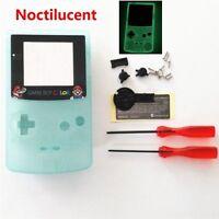 GBC Nintendo Game Boy Color Housing Shell Screen Glow in the Dark Mario USA!