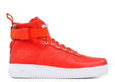 SALE NIKE SF 1 MID TEAM ORANGE WHITE SPECIAL FIELD AIR FORCE 917753 800 NEW