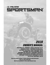 Polaris Owners Manual Book 2019 SPORTSMAN 570 Utility Edition