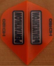 Ensembles de 5 Orange PENTATHLON HD 150 microns ailerons fléchettes