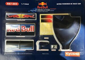 KYOSHO REDBULL RB 7 - 001 REAR WING IN MASSIVE 1/7 SCALE FACTORY SEALED
