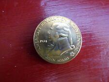 American Revolution Bicentennial John Adams 1st Continental Congress Coin Medal