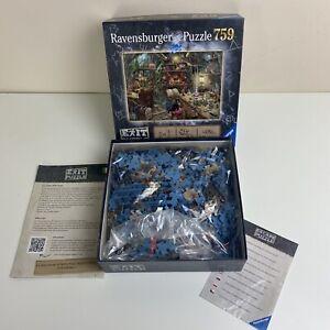 """Ravensburger Exit Puzzle  """"The Witches Kitchen"""" 759 piece Escape Jigsaw Puzzle"""