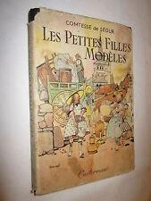 LES PETITES FILLES MODELES COMTESSE DE SEGUR ill. de JOBE-DUVAL 1945