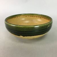 Japanese Ceramic Snack Bowl Ki Seto Vtg Pottery Kashiki Tea Ceremony PT999