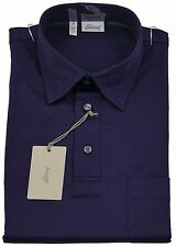 Brioni Mens Polo T Shirt Handmade SZ S /EU 46 UK 36 Made in italy Cotton