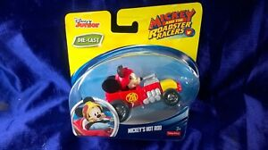 Disney Junior Mickey And The Roadster Racers Mickey's Hot Rod Die-Cast Race Car