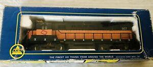 Vintage AHM HO Scale Milwaukee Locomotive In Box