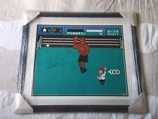 MikeTyson Signed Nintendo Mike Tyson's Punch Out 16X20 Photo -Autographed Boxing