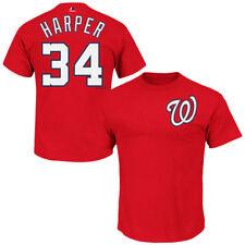 Washington Nationals Bryce Harper MLB Majestic Player Men T Shirt XL