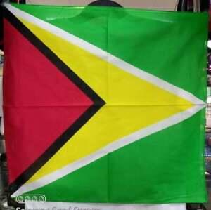 GUYANA FLAG - BANDANA - CARIBEAN COUNTRY