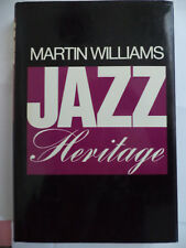 FREE SHIP - Jazz Heritage, by Martin Williams (Oxford University Press, 1985)