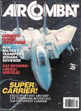 Air Combat July 1988 Canada Silver Stars T-33 USS Theodore Roosevelt Carrier