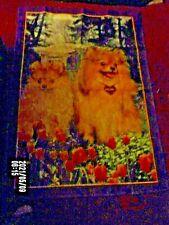 7 total-Pomeranian Dog Yard Flag 28'' By 40''-santa/july 4/easter/graduration/etc