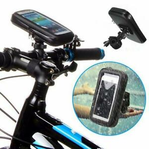360° Bicycle Motor Bike Waterproof  Case Mount Holder For LENOVO,HTC,LG  Mobile
