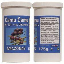 175g Camu Camu Fruchtpulver organ. Vitamin C standardisiert garantiert