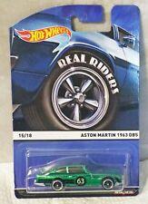 HOT WHEELS REAL RIDERS  15/18 ASTON MARTIN 1963 DB5